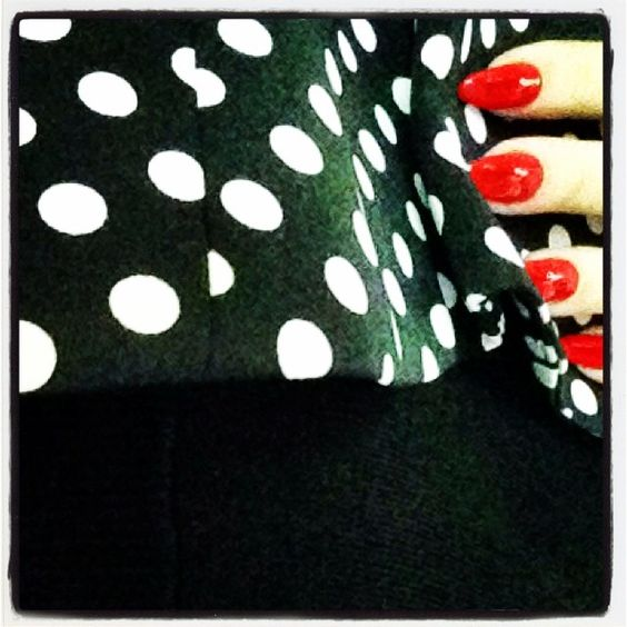 Marlenes choice today... :-) #marlenebitzer #me #nails #red #Padgram