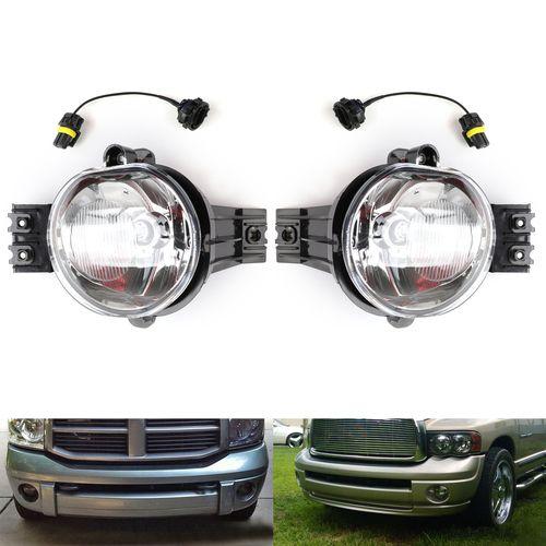 Bumper Fog Lights For Ram 1500 2500 3500 2002 2008 Pair Set Ram 1500 Dodge Ram 1500 Bumpers