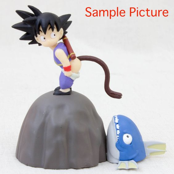 Dragon Ball Z Son Gokou Boy Figure Memo Paper Stand banpresto JAPAN ANIME