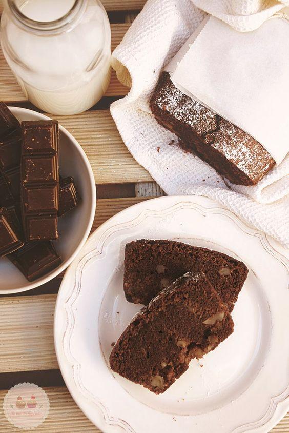 Tu medio cupcake: Pan de Chocolate: ¡empecemos la semana con energía!