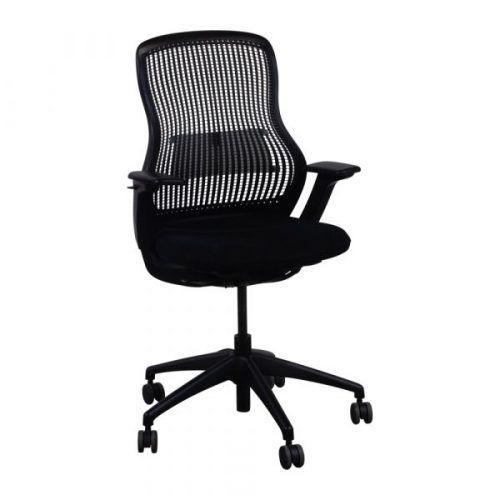 Knoll Regeneration Used Task Chair Black Chair Mesh Chair