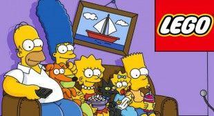 Lego lanzará serie de juguetes de Los Simpson