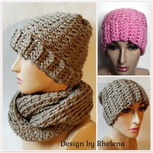 Free crochet, Beanie and Slouchy beanie on Pinterest