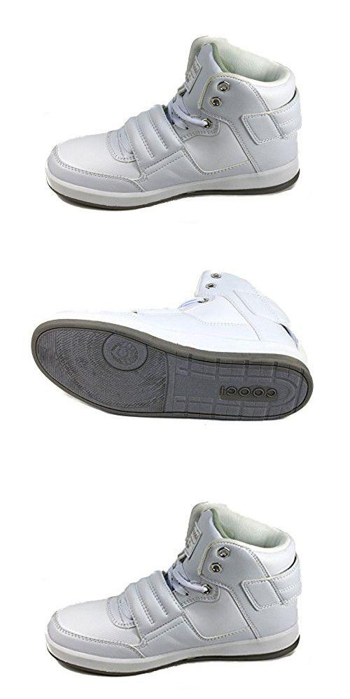Coogi CBS435 Boy's Stein White Sneakers US 5.5