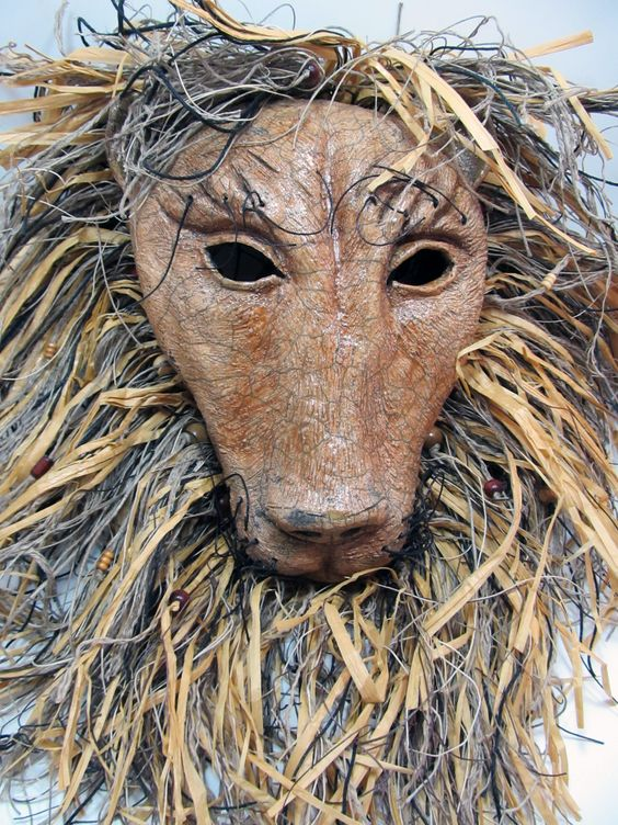 how to make a mask of lion