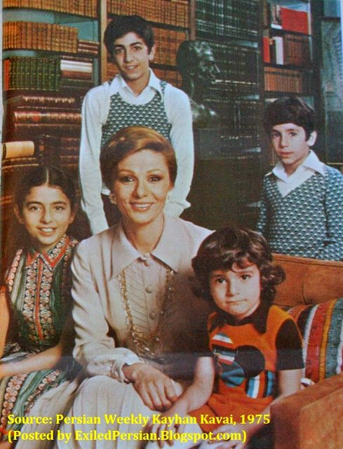 Diaries of an Exiled Persian: Rare Photo of Farah Diba, Last Queen of Persia…