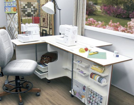 Muebles para maquinas de coser google search muebles for Mueble organizador de costura