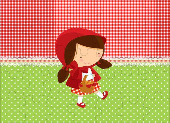 Quebra-cabeca Chapeuzinho Vermelho