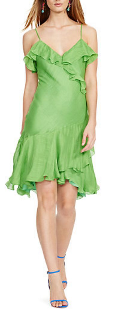 Gorgeous ruffled dress for summer