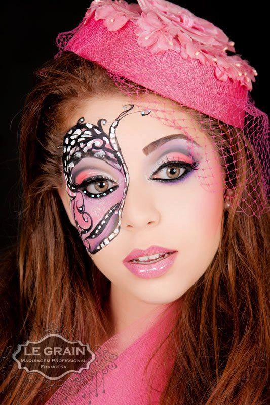 maquillaje artistico | maquillaje de ojos | Pinterest ...