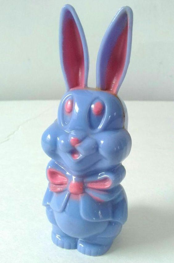 Vintage Easter Bunny Rattle