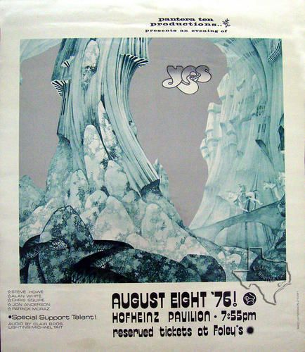 Yes, Aug 8, 1976, Hofheinz Pavilion