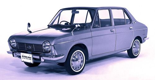 http://chicerman.com  carsthatnevermadeit:  Subaru 1000 1966 The 1000 was Subarus first car to use a front longatudinally mounted boxer engine driving the front wheels a configuration they have used ever since  #cars