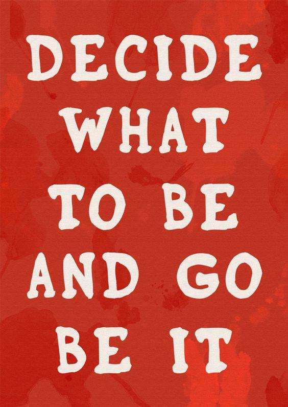 decide & go