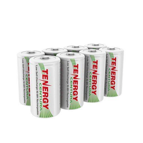 8 Pack 4 X Cards Tenergy Centura Nimh C 1 2v 4000mah Rechargeable Batteries Nimh Rechargeable Batteries Recharge