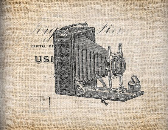 Antique Camera Photography  Illustration by AntiqueGraphique, $1.00