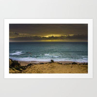 Fonte da Telha, Portugal Art Print by Elias Silva Photography - $16.00