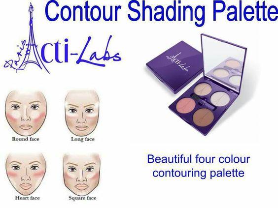 Contour Shading Palette