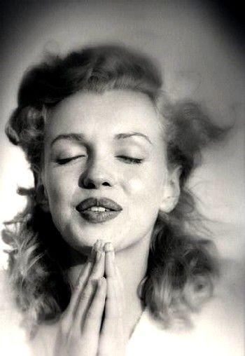 Marilyn Monroe - Photos anciennes et d'autrefois, photographies d'époque en noir et blanc