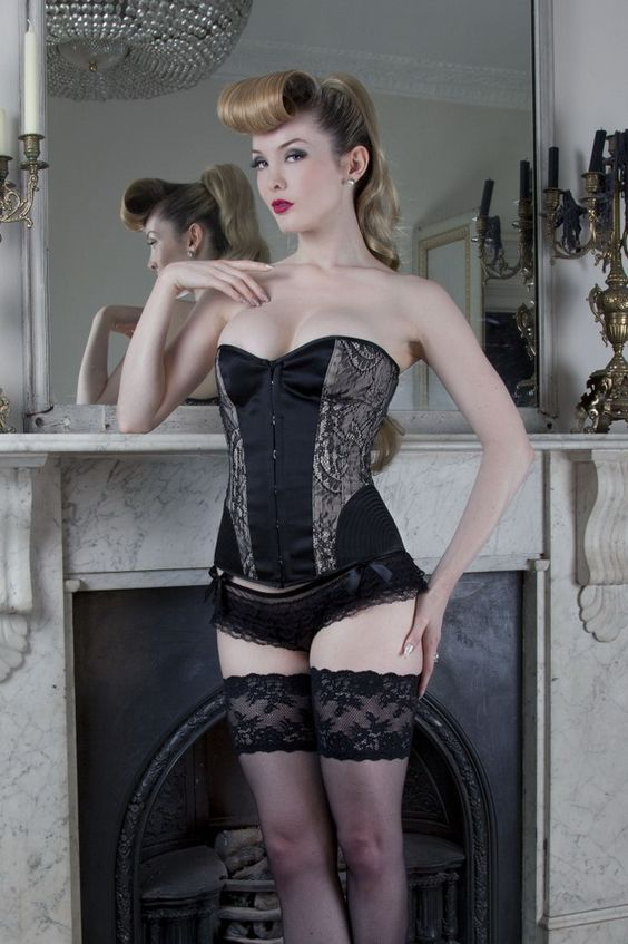 Tumblr corset fetish