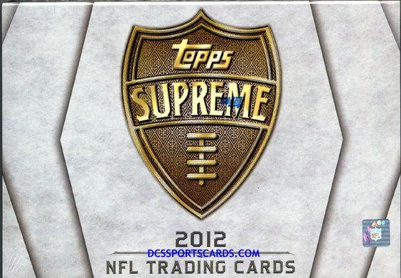 2012 Topps Supreme Football Cards Hobby Box - $86.95