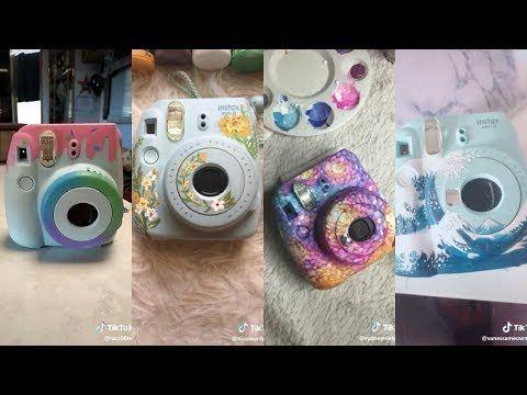 Painting Instax Mini 9 Camera Compilation On Tiktok Youtube Instax Camera Instax Mini Camera Polaroid Instax Mini