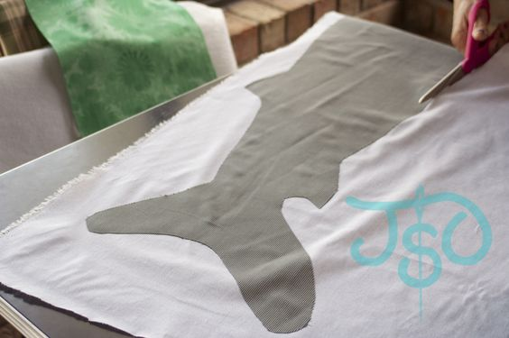 Cut out your shark tail pattern and glue or tape it in place to your drafted tail. Description from justsewolivia.com. I searched for this on bing.com/images