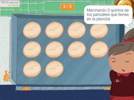 Fraccion de una cantidad de pancakes