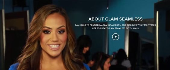 Glam Seamless Sizzle Reel