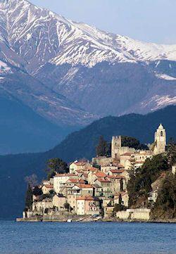 The Hamlet of Corenno Plinio, Lake Como