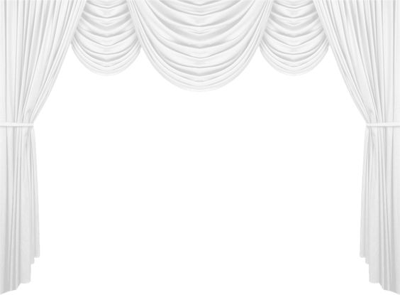 Clip Art Black and White Curtain – Clipart Free Download