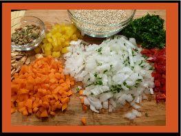 Crunchy Quinoa