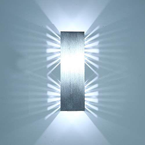 Louvra 6w Led Wandleuchte Modern Wandlampe Innen Kreativ