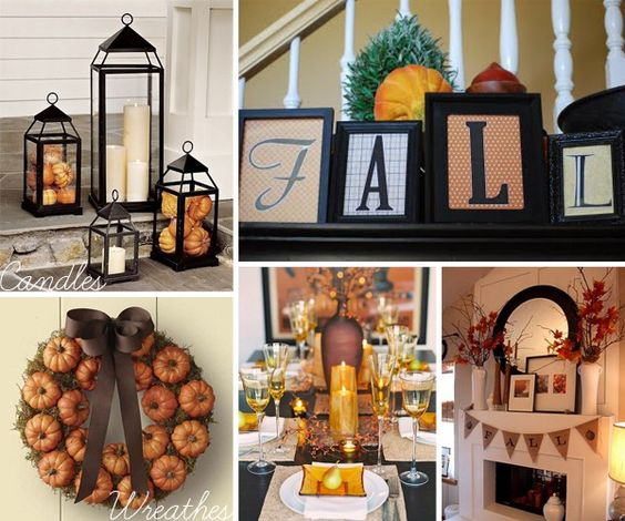 cute ideas for fall decor: Decor Ideas, Fall Favorite, Decorating Ideas, Thanksgiving Fall, Fall Autumn, Autumn Decor, Fall Decorations, Fall Decorating, Holiday Idea