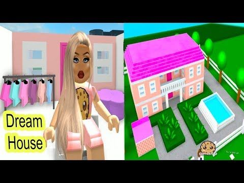 Building My Own Barbie Dream House Let S Play Roblox Game Video Youtube Barbie Dream House Barbie Dream Play Roblox
