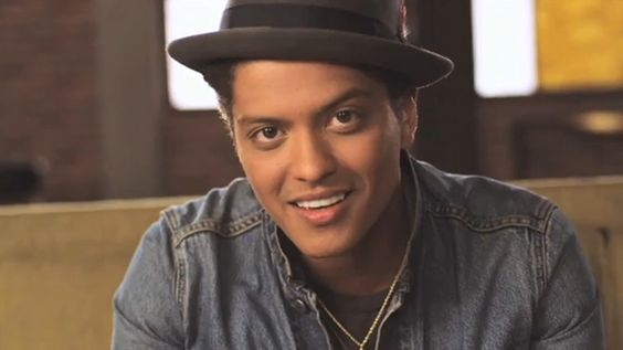 Bruno Mars is gorgeous. <3
