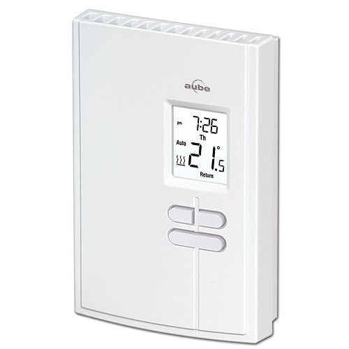 Aube Electronic Programmable Thermostat Th303 U Rona