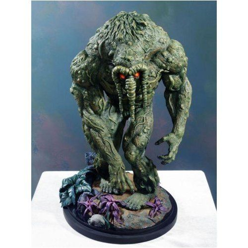 Man-Thing Statue Bowen Designs! by Bowen Designs. $209.99. As the physical embodiment of fear, the Man Thing strikes at the hearts of the fearful and burns their fear away - along with rest of their bodies. Now, you too can possess the power of the Man Thing with this amazing cold-cast resin statue. Standing 13' tall and sculpted by Mark VanTine for Bowen Designs, this statue is Marvel Must-Have for the truely fearless! Painted and ready for display.