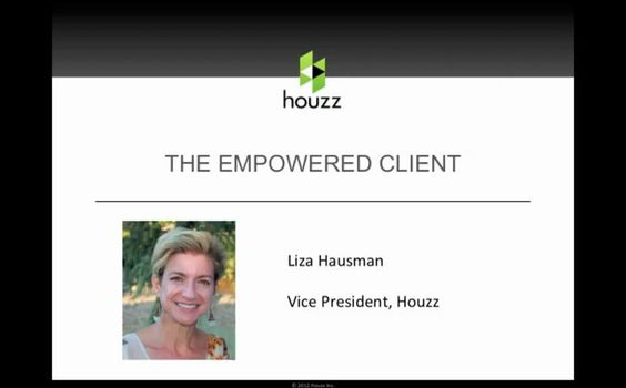Webinar: Using Houzz to Market Your Business