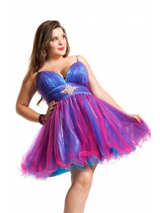 Fuchsia Turquoise Dress