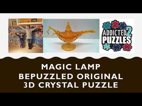 Magic Lamp 3d Crystal Puzzle Tutorial Youtube In 2020 Magic Lamp 3d Crystal Puzzle Shop