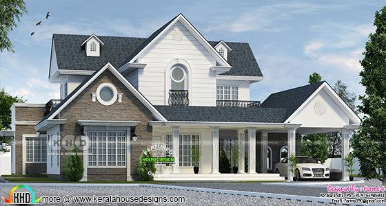 Amazing Colonial Style Home Architecturally Treated Colonial Style Homes Colonial House Plans Colonial Style