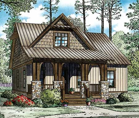 Cottages Craftsman And Porches On Pinterest