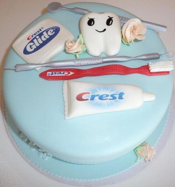 Cake Design Dentista : Dentist cake, Dentists and Bakery cakes on Pinterest