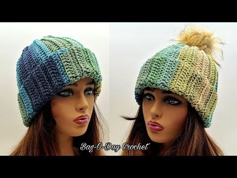 Easy Crochet Beanie Hat A Shooting Star Unisex Beanie Bagoday Crochet Tutorial 634 Youtube Easy Crochet Beanie Crochet Beanie Hat Crochet Tutorial