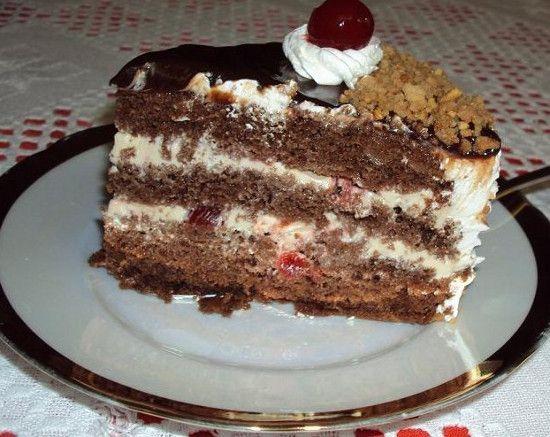 Receita de Bolo de Chocolate em Camadas - http://www.receitasja.com/receita-de-bolo-de-chocolate-em-camadas/