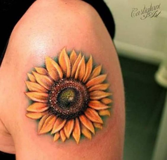 200 Most Popular Elephant Tattoos And Meanings Nice Check: 40 Fantastic Sunflower Tattoos That Will Inspire You To