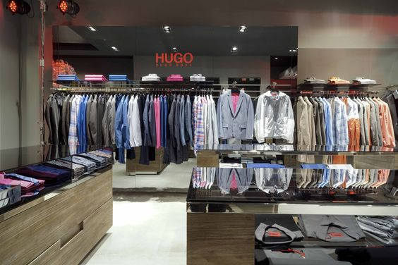 HUGO has arrived in Japan! The very first free-standing HUGO Store in Asia opened at Herbis Osaka on April 3rd, 2012.