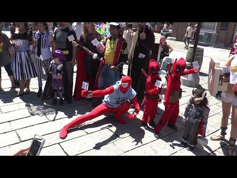 Boston Comic Con - Cosplay parade and competition - 2016 (1080p60) - YouTube