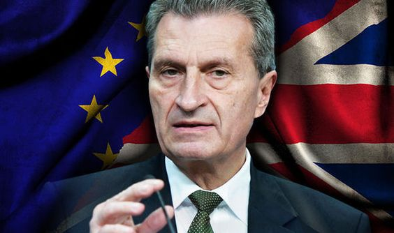 BREXIT for Britain out of the EU is NOT a done deal, according to European Commissioner Günther Oettinger...aug16